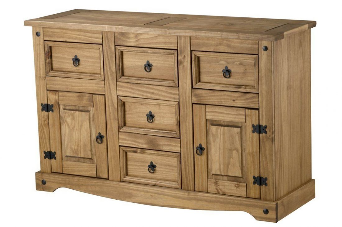 Mexican Style Pine Corona Sideboards