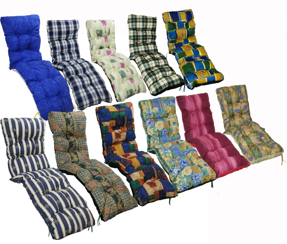 replacement sun lounger cushions reclining garden chair cushion sets