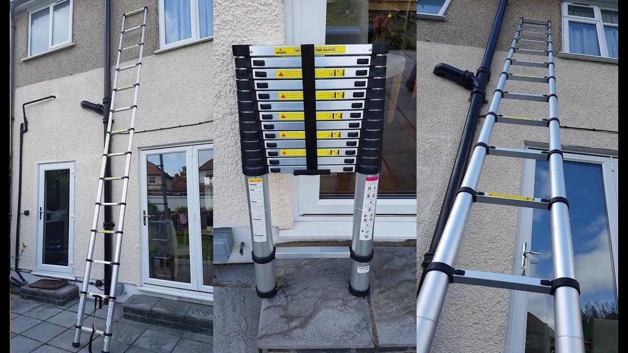 5m telescopic ladder
