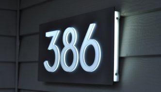 Door Number Plaques
