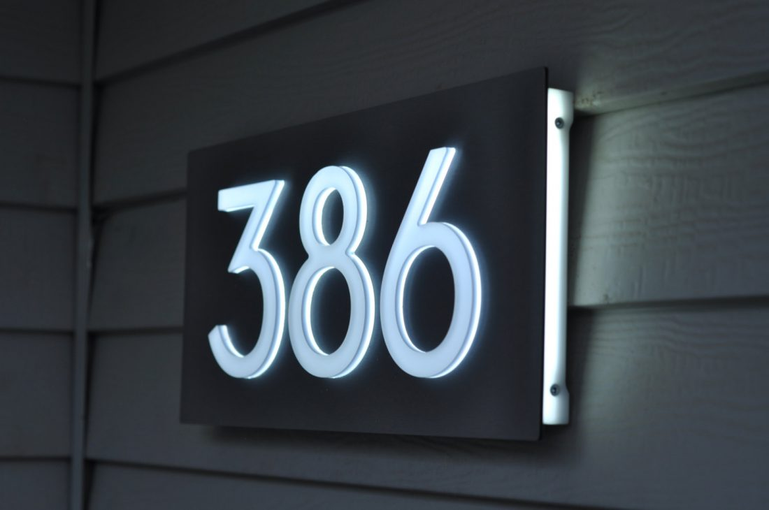 Best Personalized House and Door Number Plaques