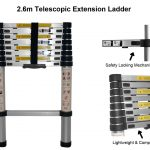 2.6m telescopic ladders