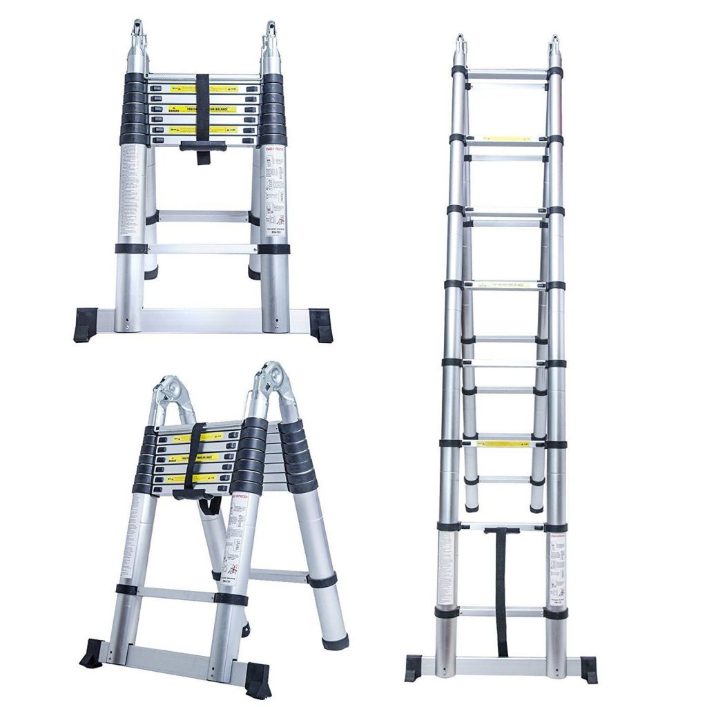 keraiz telescopic ladder
