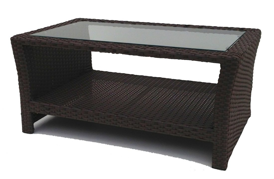 Rattan Coffee Tables For Outdoors And Indoors