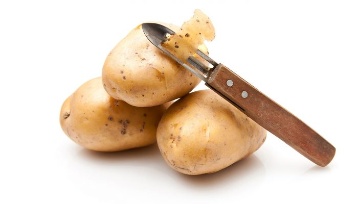 potato peeling