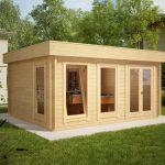Garden Summer House Log Cabins