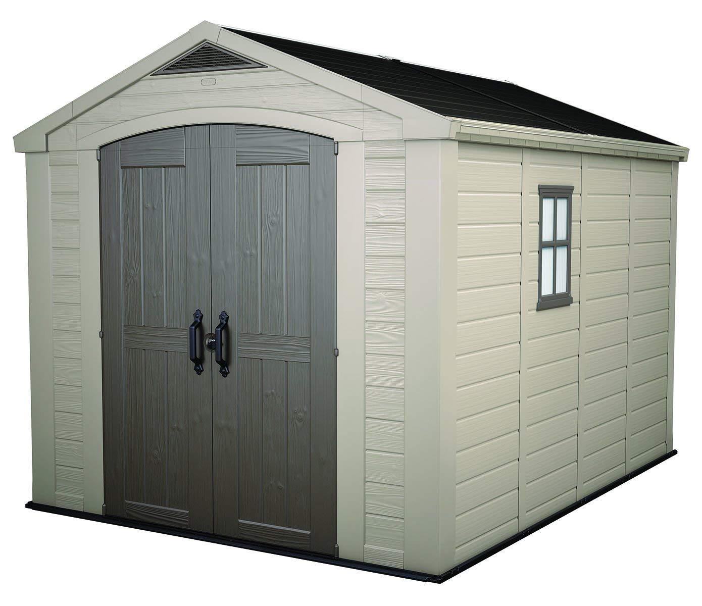 plastic garden storage sheds