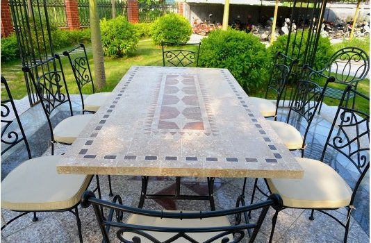 Mosaic Garden Table